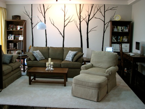 Here Is The Winter Tree Wall Decal That I Used In My Previous Home Jakarta Indonesia