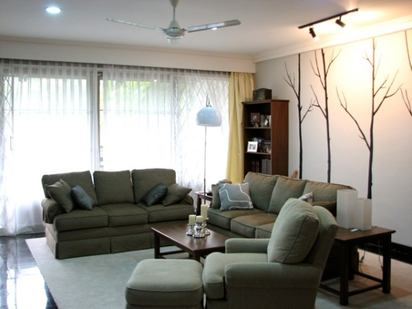 Before After Living Room