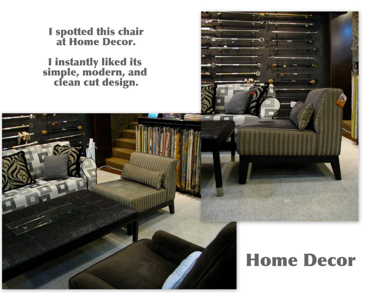 Wednesday Wall2wall Our New Chair Home Decor Chuzai