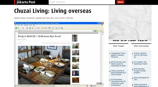 Jakarta Post Chuzai Living