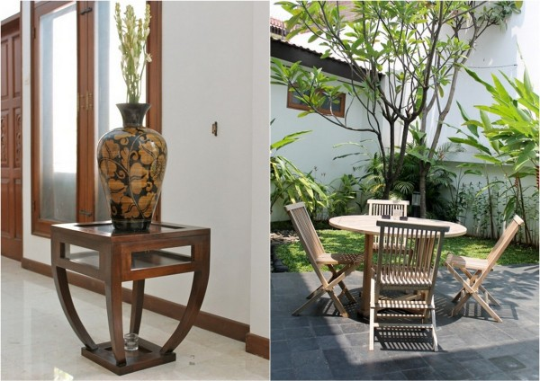 Swedish Interior Design With Indonesian Decor