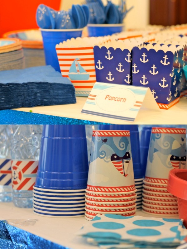 Nautical Birthday Party5