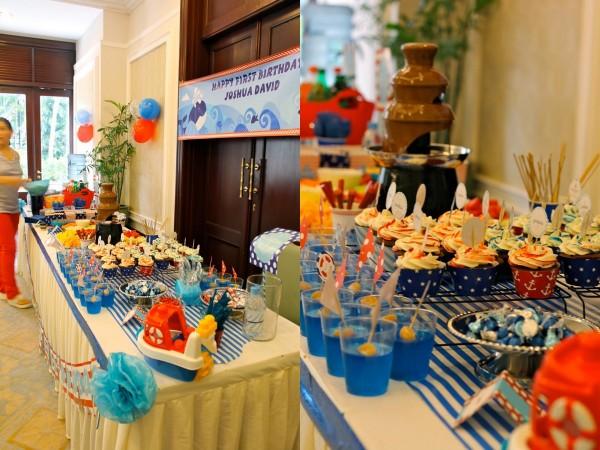 Nautical Birthday Party6