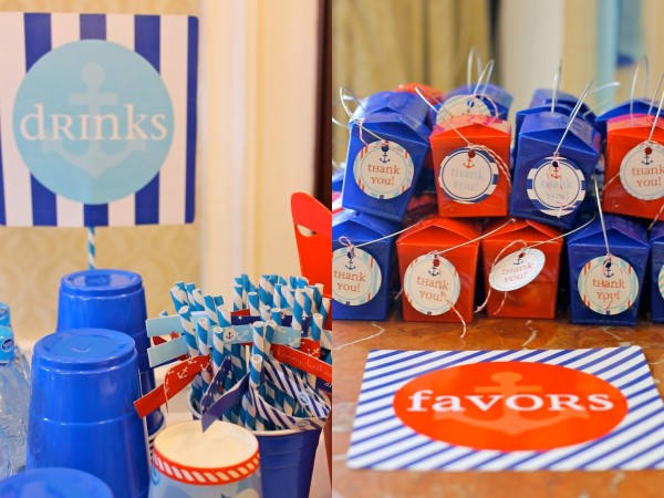 Nautical Birthday Party7