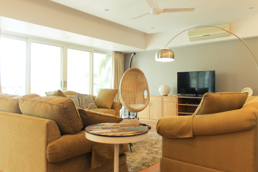 Living Room Before After New Swing Rattan Chair C H U Z A I