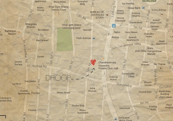 DHOOP Map