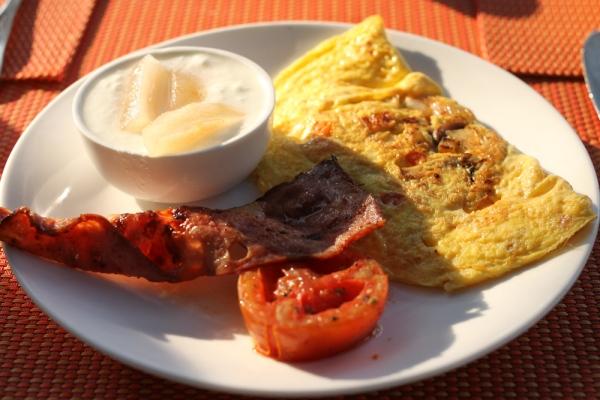 Cidade de Goa Breakfast