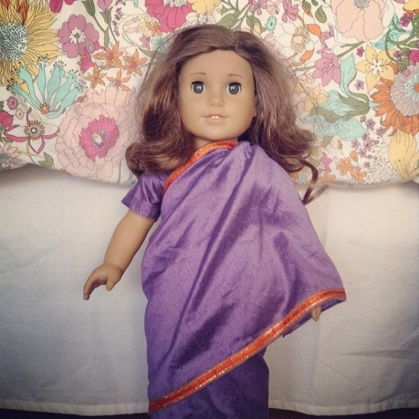 American Girl Doll in Sari