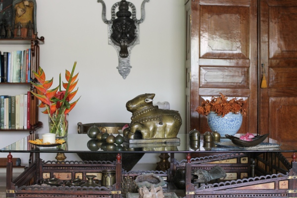 Home with Indian Antiques-40